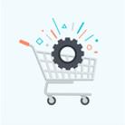 Afbeelding: aansluiting van de Pricemonitor op uw winkelsysteem